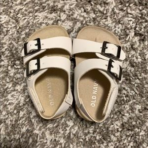 Old Navy baby Birkenstock style sandals size 3-6m